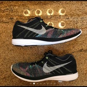 Nike Lunar 3 ID running shoes fly knit